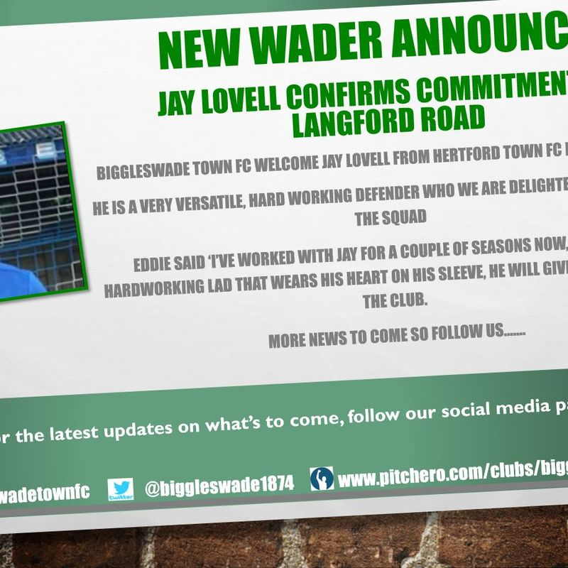 New Wader announced