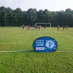 Great to see the Junior Section enjoying the coaching from Sale Sharks on the Summer Camp