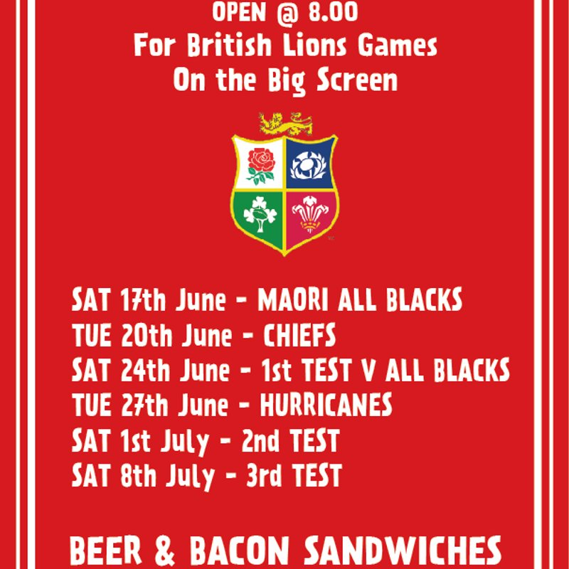 Why not join Us to Watch The Lions