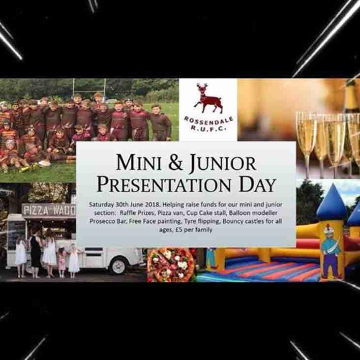 Presentation Day For Mini & Juniors