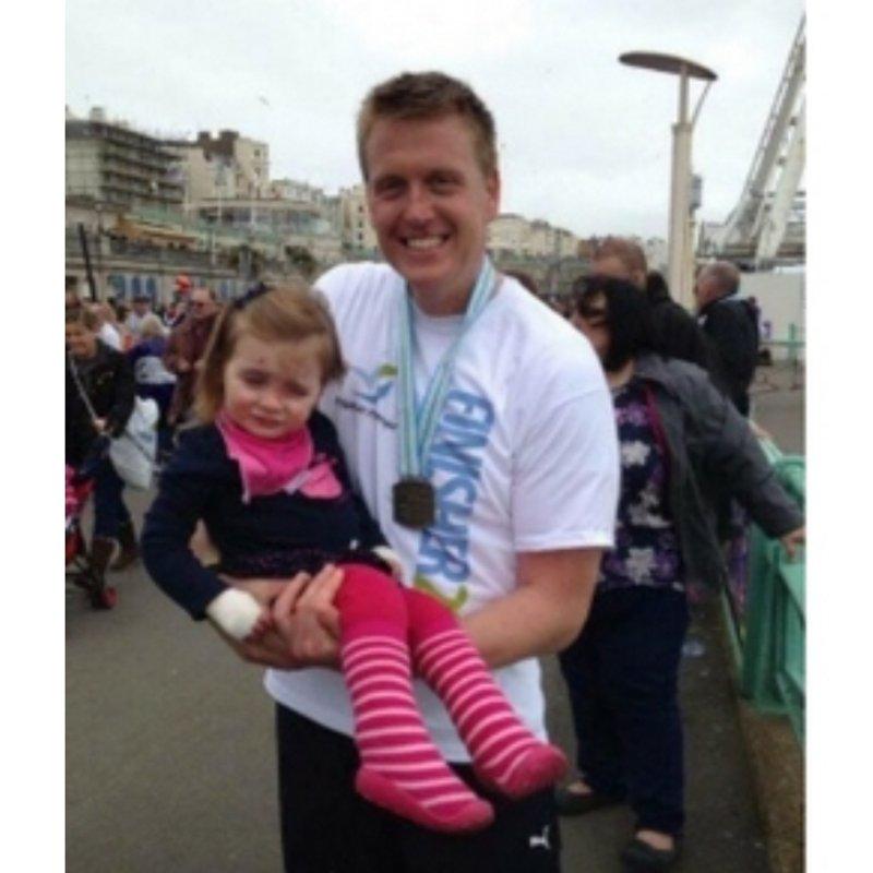 Whitey vs The London Marathon in support of DEBRA