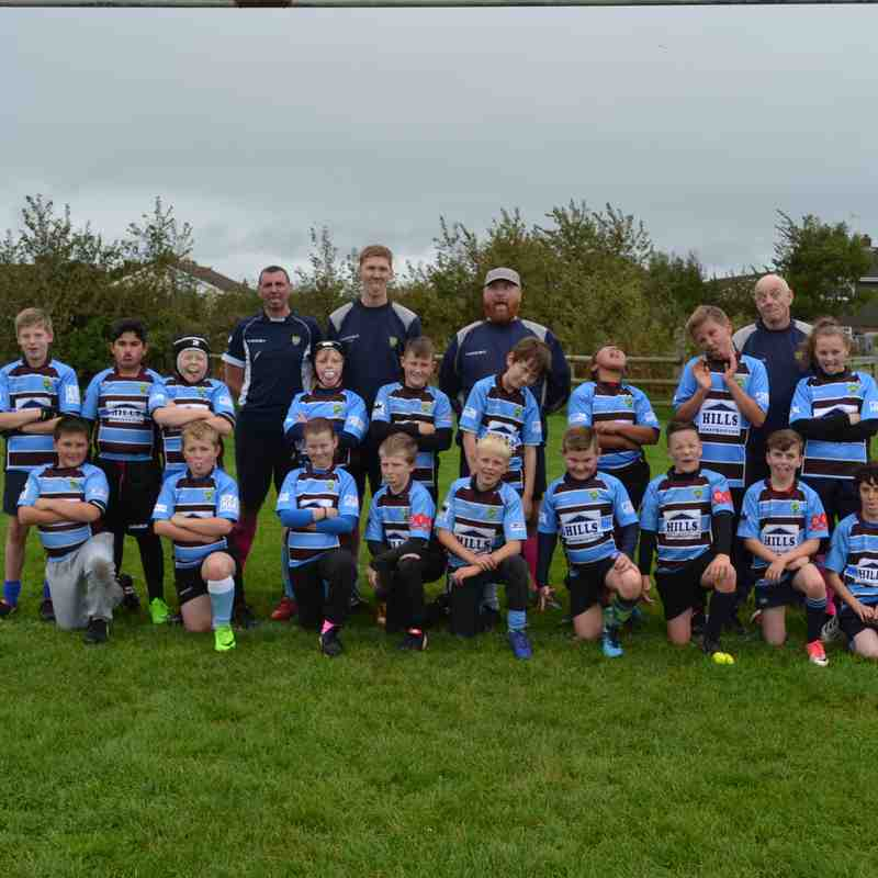 2017-18 Season U11's -vs- Nailsea & Backwell 01/10/17