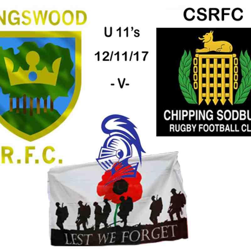 U 11's -v- Chipping Sodbury 12/11/17
