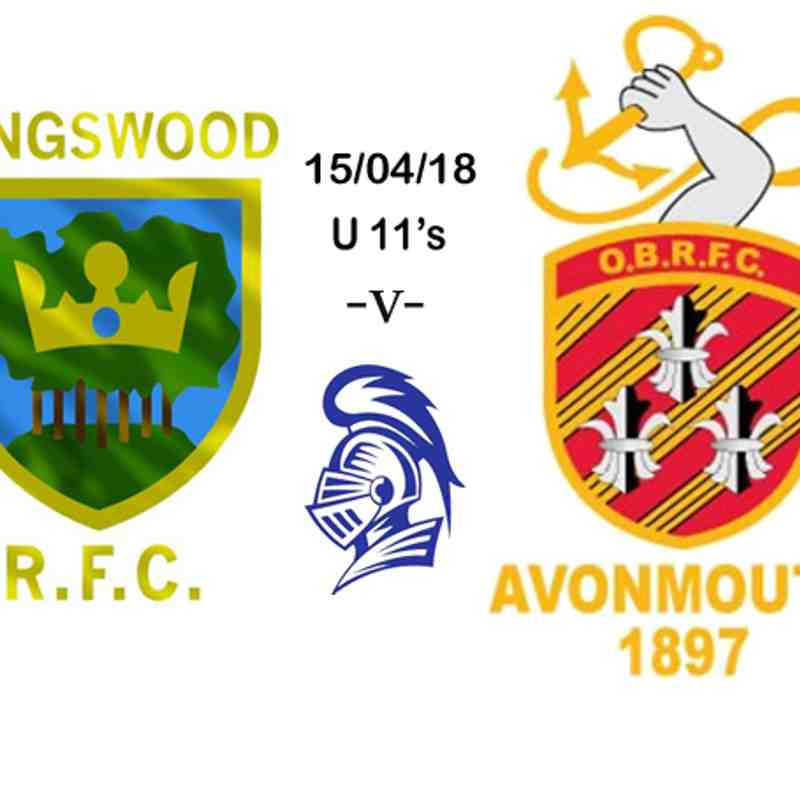 U11's v Avonmouth 15/04/18
