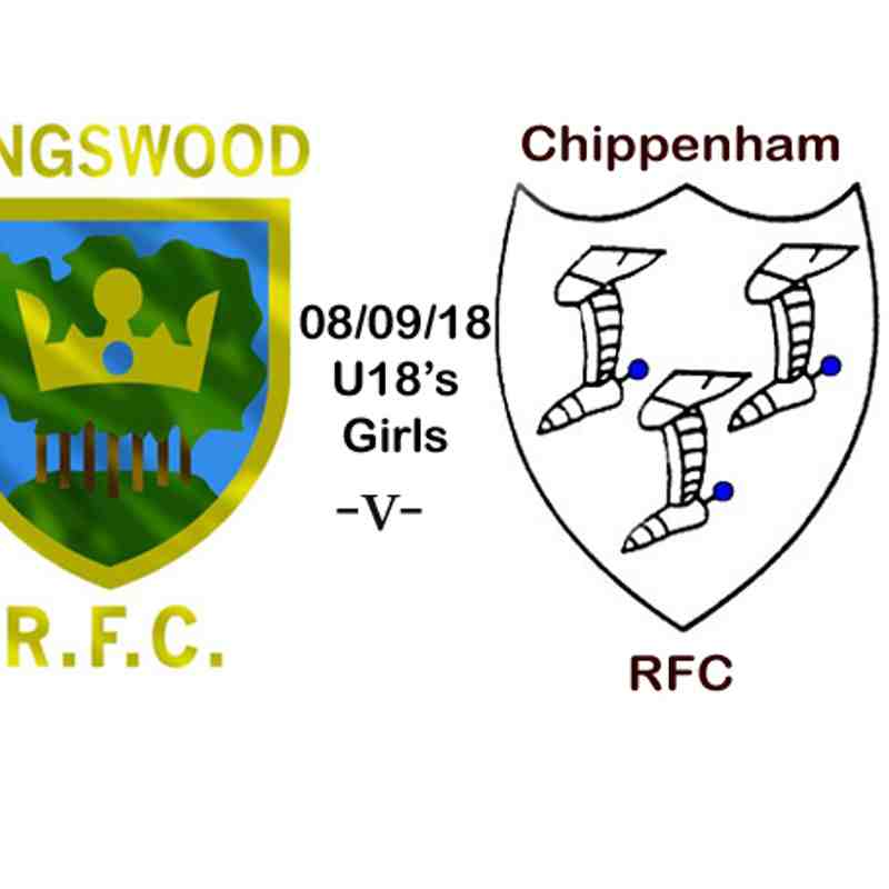 U18's Girls -v-Chippenham RFC 08/09/18