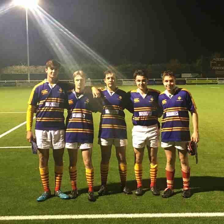 County recognition for Cambridge Academy Players