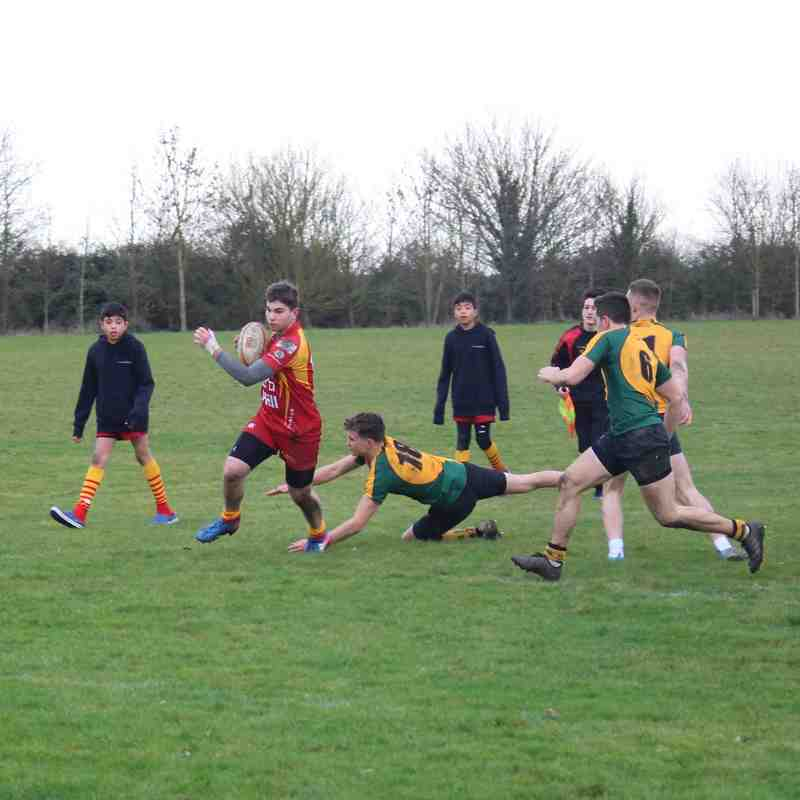 Colts vs Bury St Edmunds Jan 2019