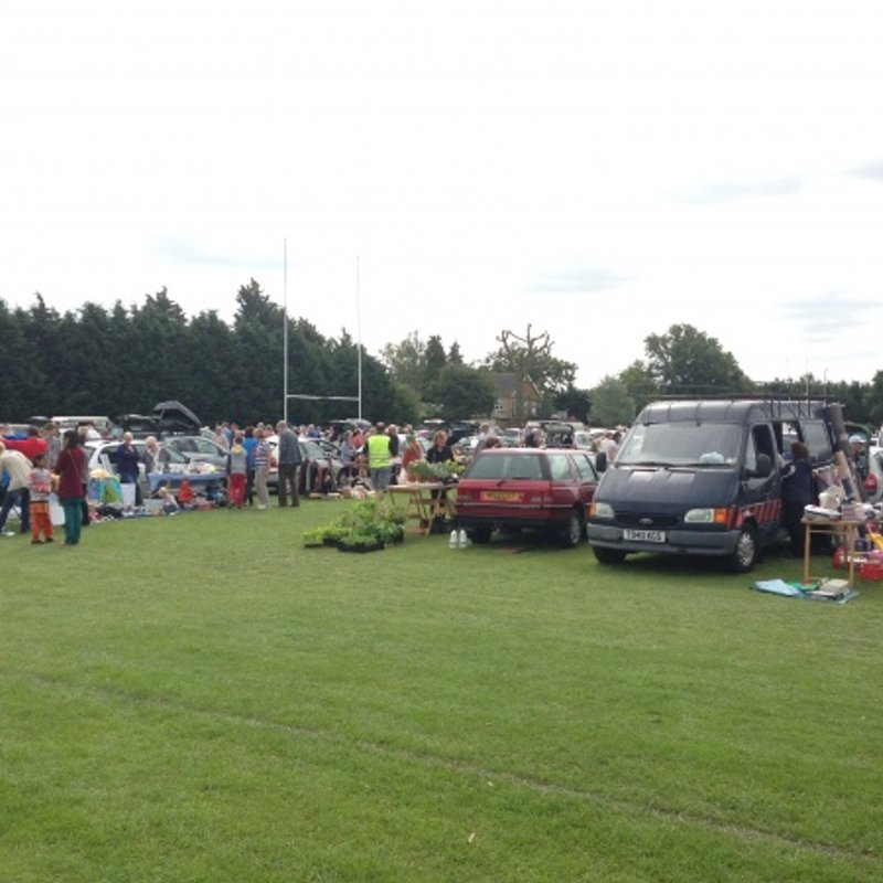 Last Car Boot Sale of the Summer - Sat. 26th August 2017