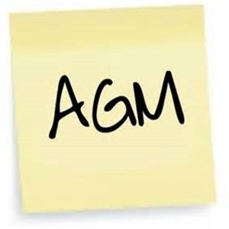 Annual General Meeting - Friday 5th May