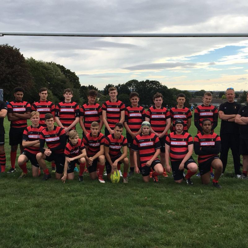 Under 16's beat Old Brentwoods 50 - 0