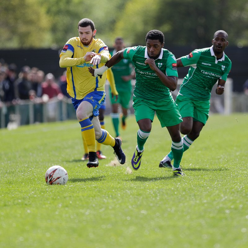 Waltham Abbey v Haringey Borough
