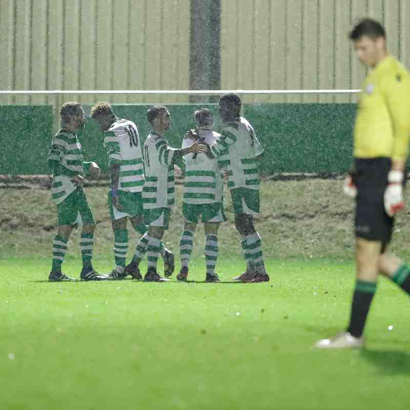 Waltham Abbey v Coggeshall Town 7 Nov - Essex Senior Cup