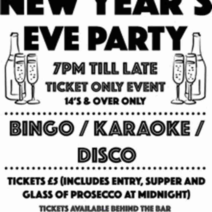 RCC NEW YEARS EVE PARTY!