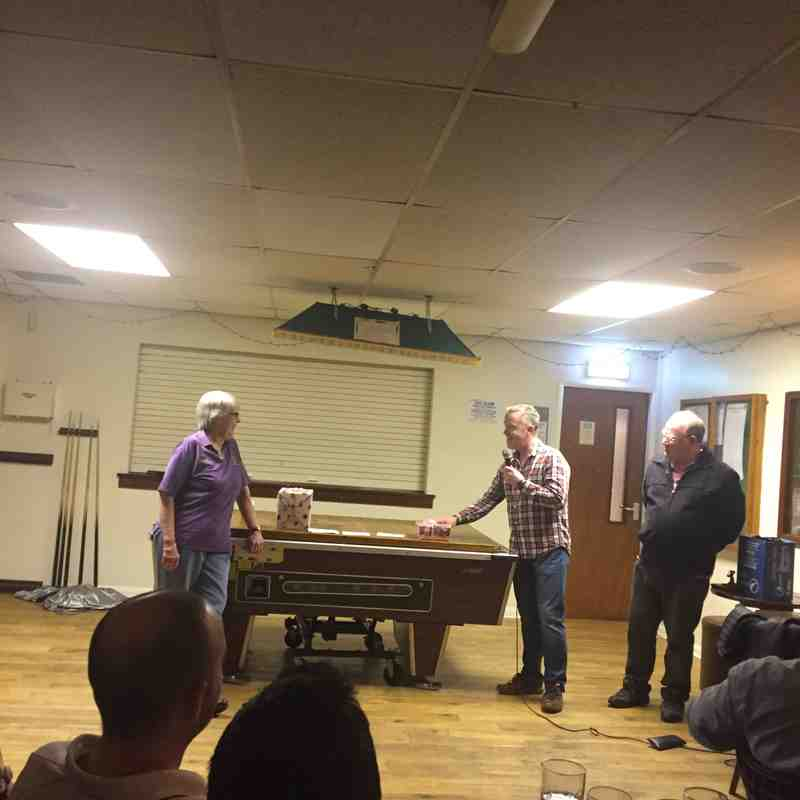 Friday 31st March 2017 - Joyce's Presentation night