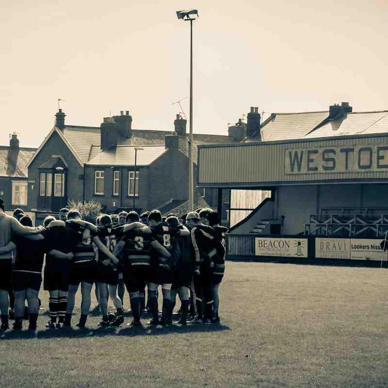 Westoe RFC U8's  24/9/17