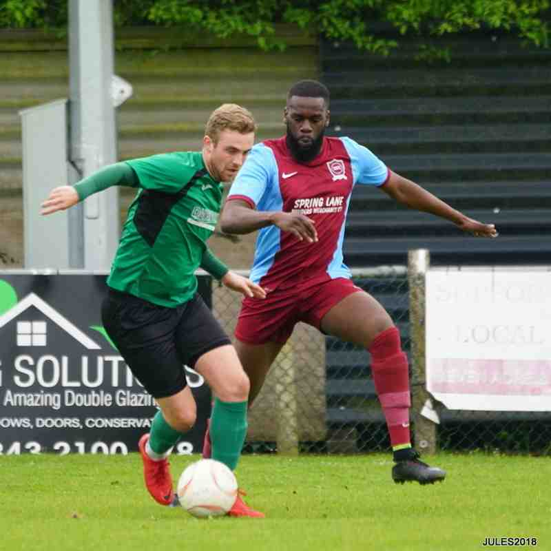 Welling Town 1-2 Sydenham Sports on 28/4/18