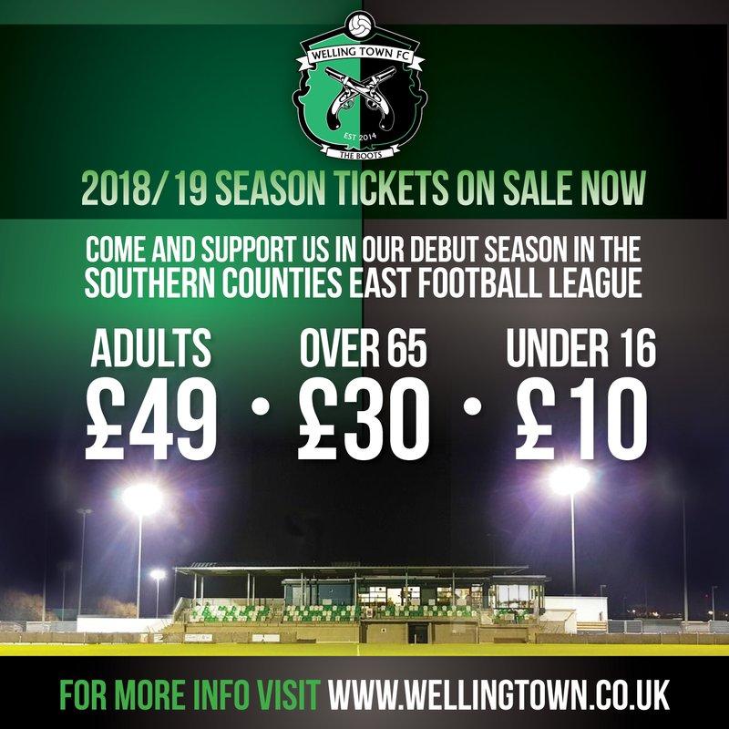 Season Ticket - 2018/19
