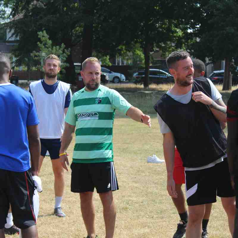 Pre-season training 7th July 2018