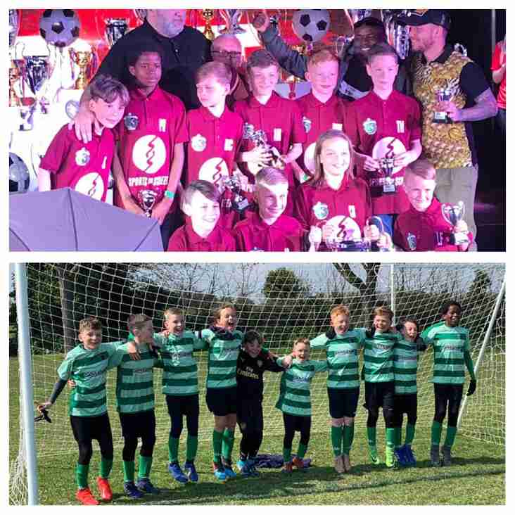 Under 11s - Great Yarmouth cup success