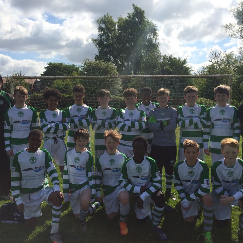Under 15s lose to Swinton FC Lions 3 - 5