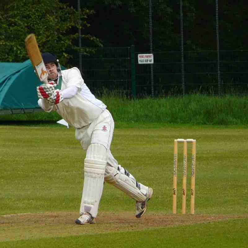 Adel 1st XI vs North Leeds.  1/7/2013