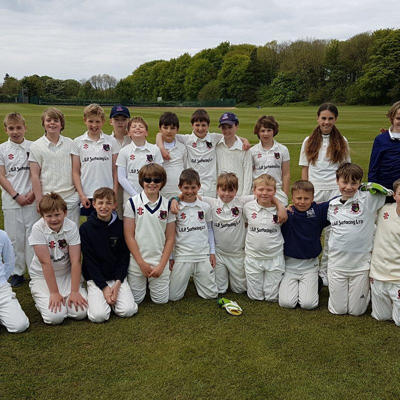 Knowle CC U11As vs. Bristol Cricket Club - U11As