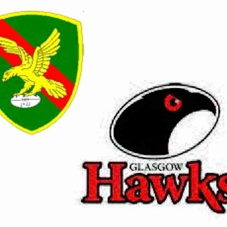 Hawks Challenge & Alan Retires