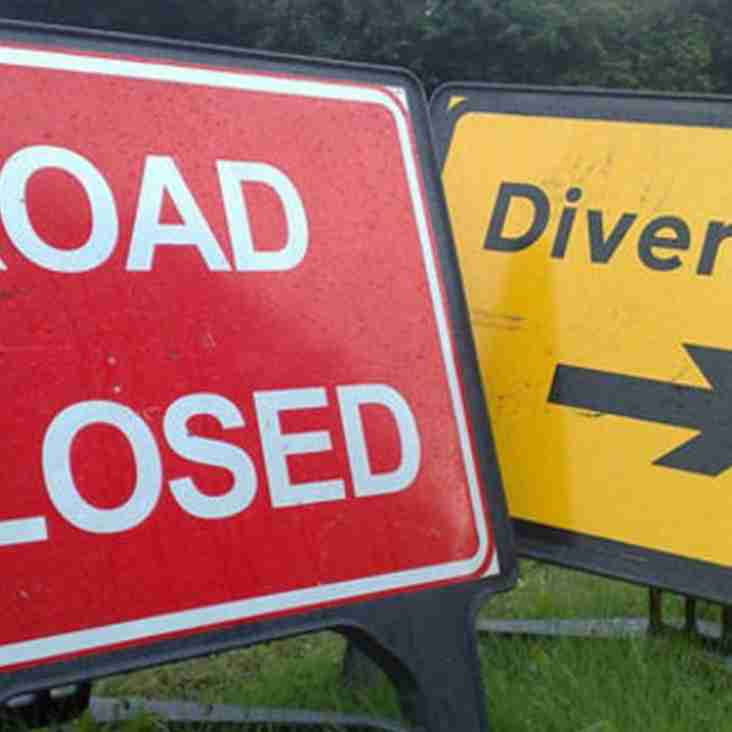 Tomnahurich Street Is Closed