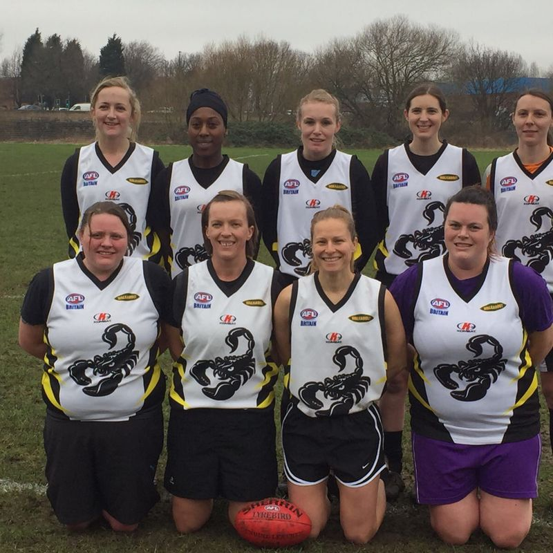 Women vs Uni of Birmingham 18th Feb 2017