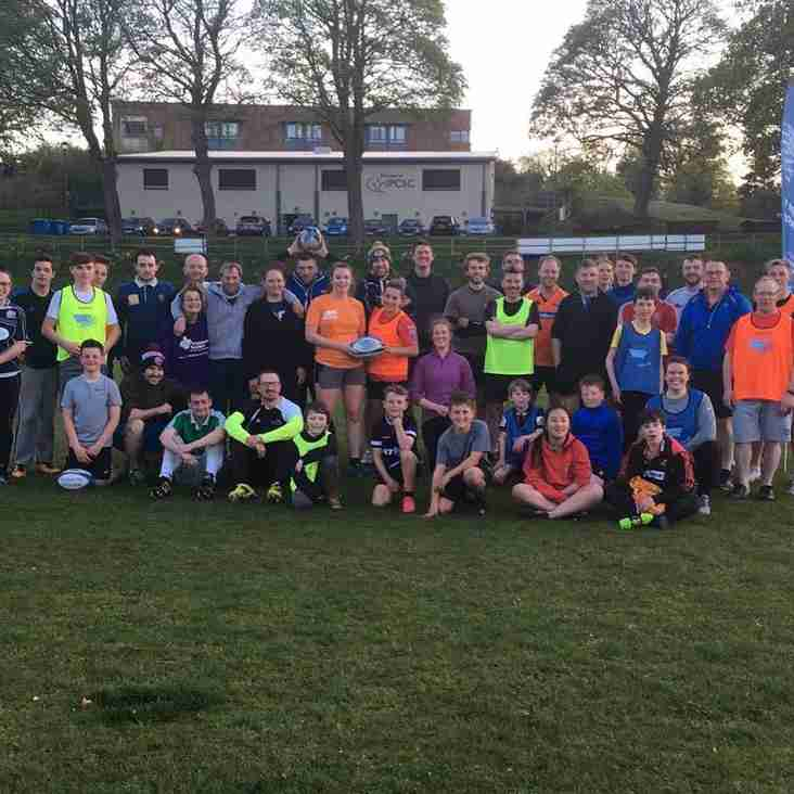 Tartan Touch kicks off at Lismore RFC!