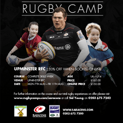 Saracens Summer Rugby Camp