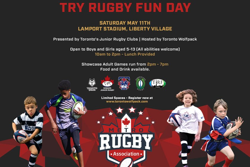 Try Rugby Fun Day with Toronto Wolfpack!