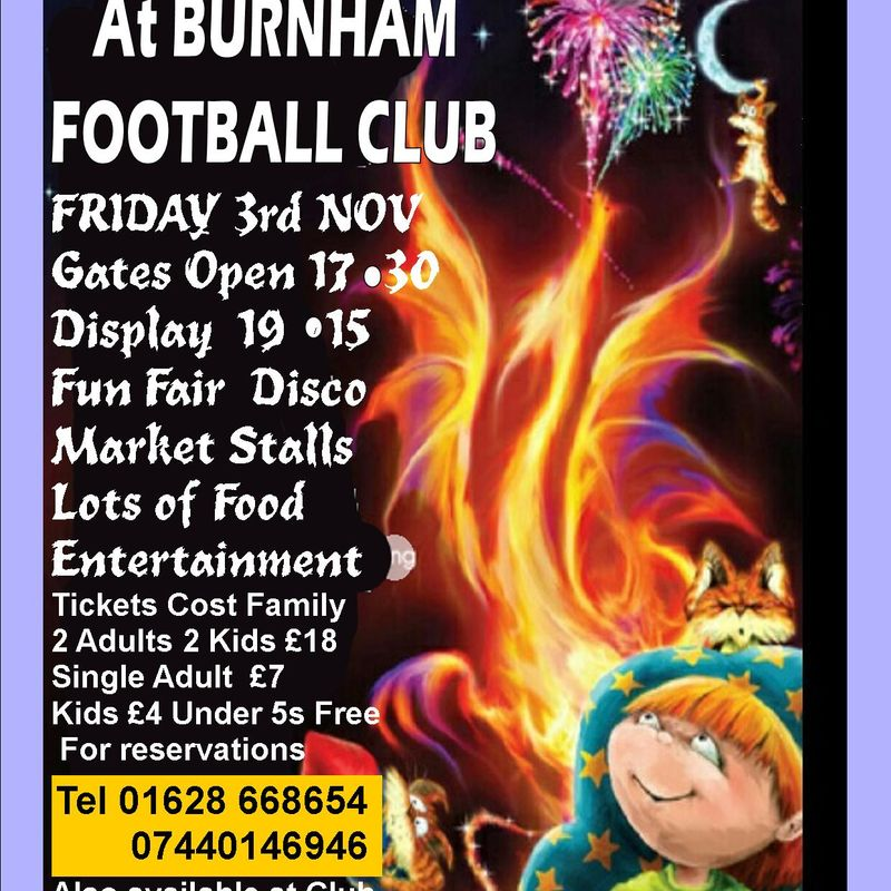 The Burnham Grand Firework Display