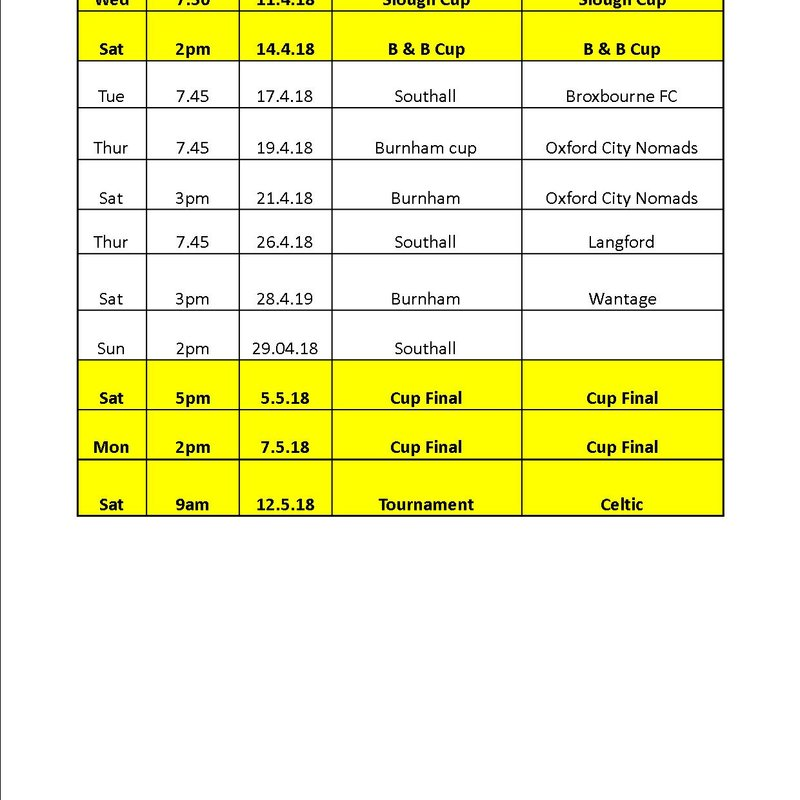 Latest Game Schedule All Games