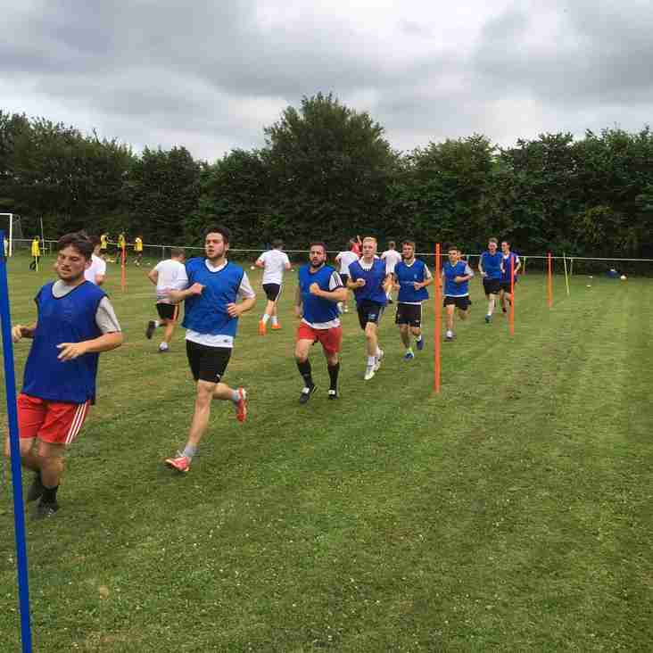 LETCOMBE FC FIRST SESSION GOES DOWN A STORM !!