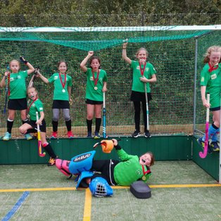 Lewes Under 12 Girls Win Gold in Burgess Hill