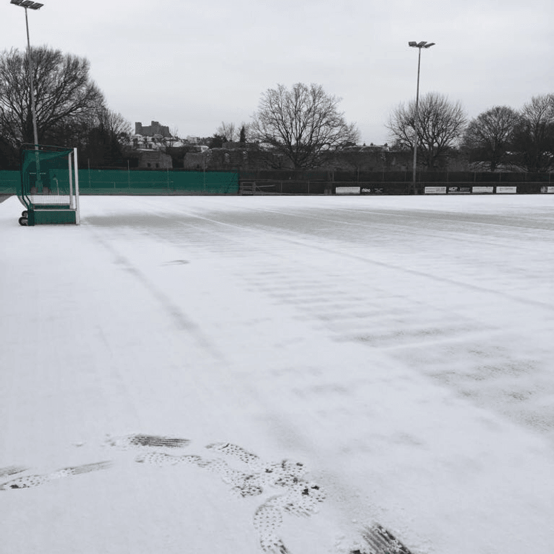 ALL LEWES JUNIOR HOCKEY TRAINING CANCELLED TODAY
