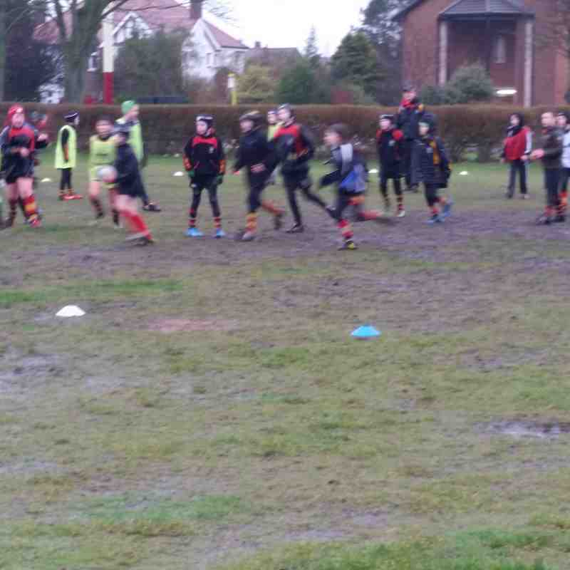 Saturday training 5th March