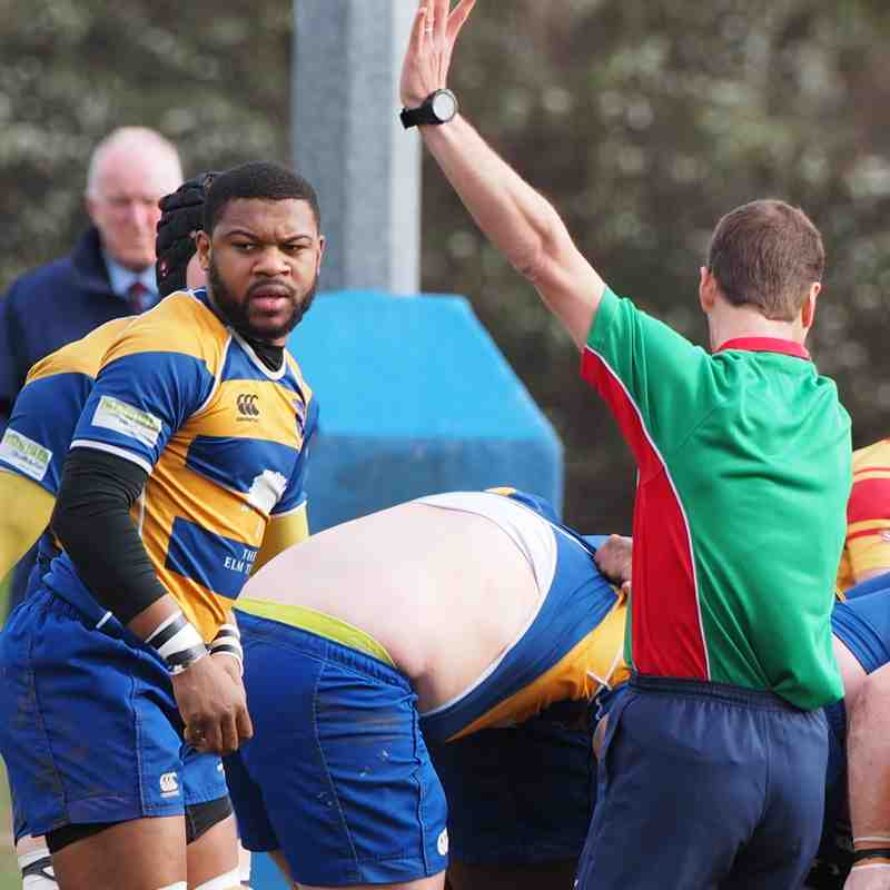 Beckenham 1st XV (33) v Medway (28) - 4th March 2017
