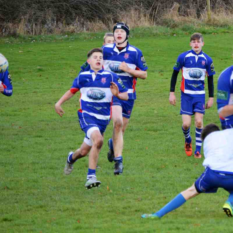 U15's Home to Bakewell 27th November 2016