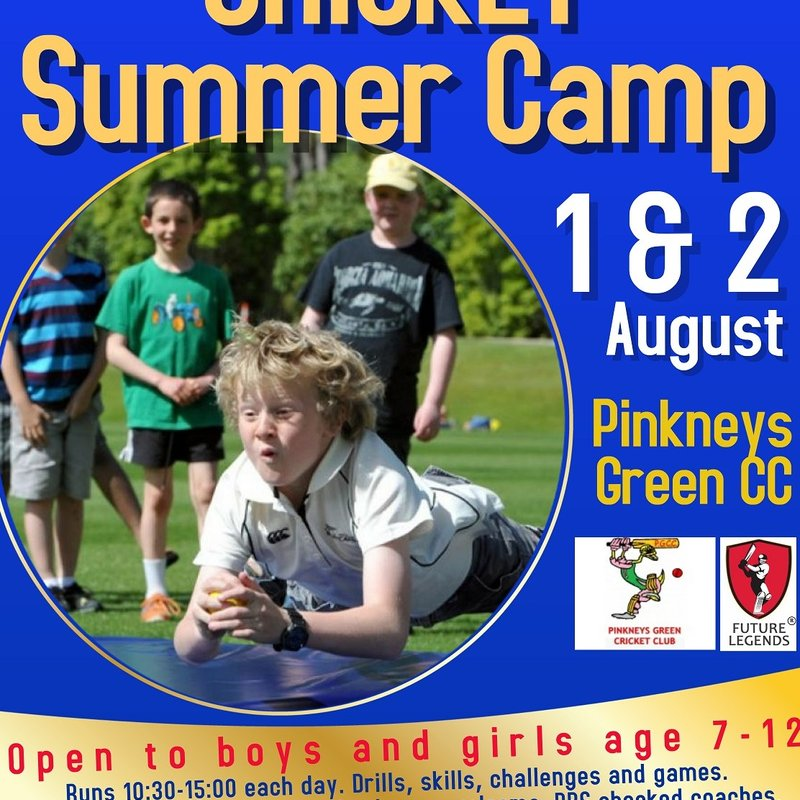 Summer Cricket Camps for kids 1 & 2 of August