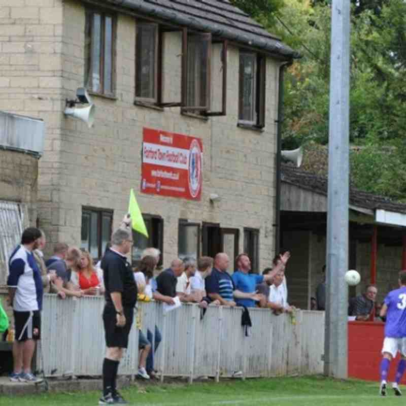 FA Cup: Fairford Town v Knaphill