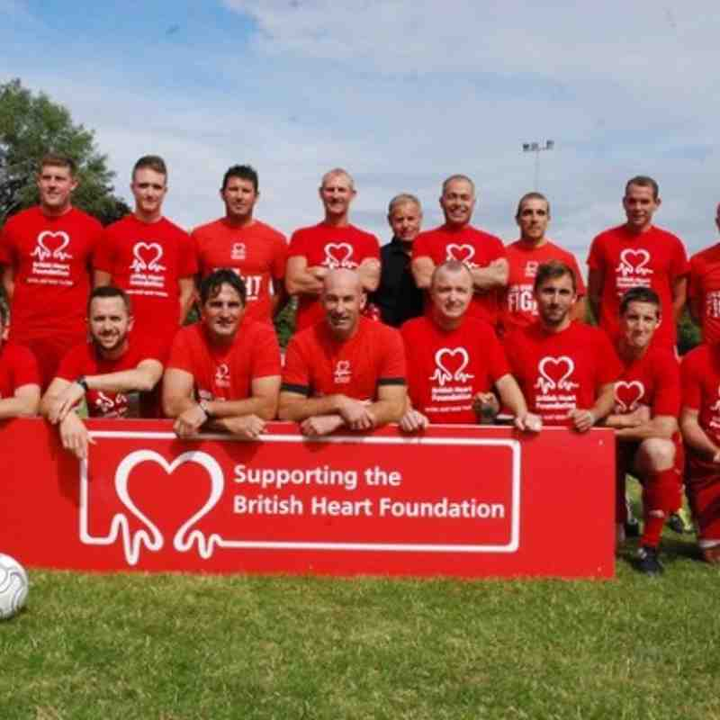BHF Charity Match 2014