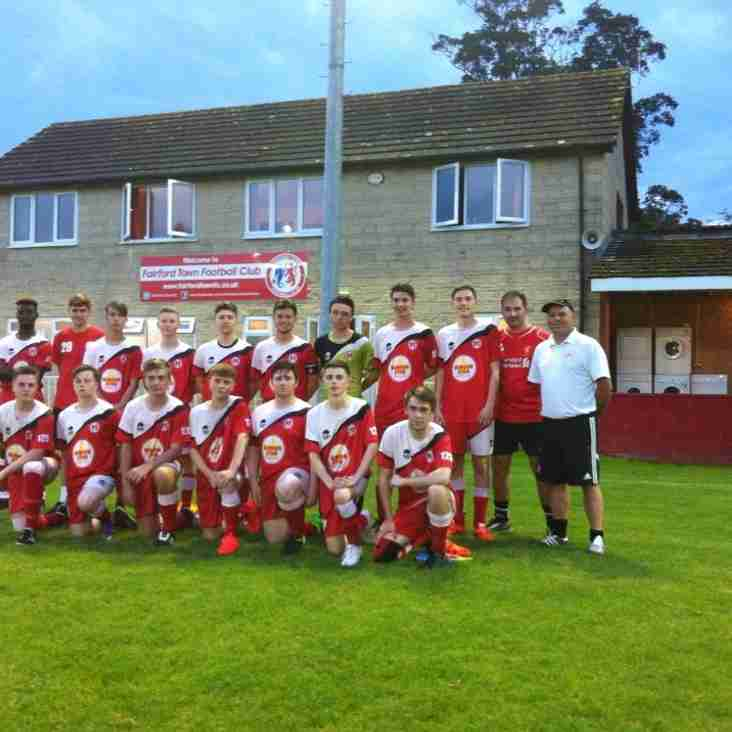 U18s in action on Wednesday