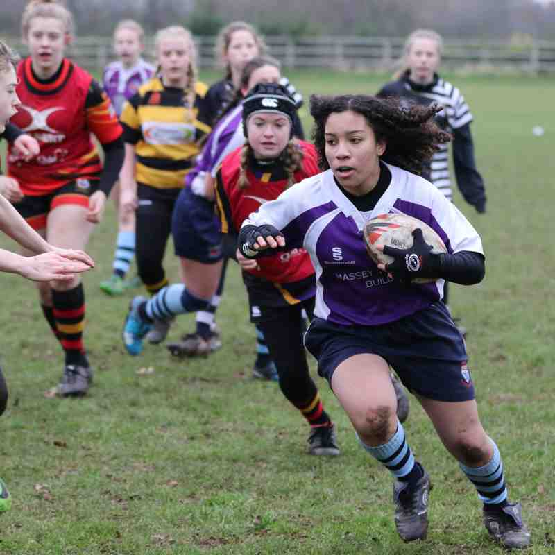 U13 Girls Crewe & Nantwich 14/1/18