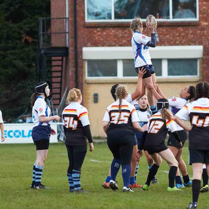 U15 Girls. Crewe and Nantwich, 11/11/18