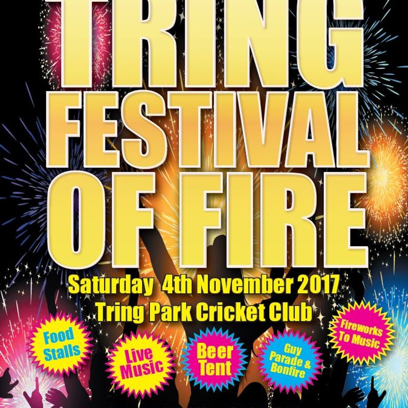 Tring Festival of Fire all set to sparkle on November 4