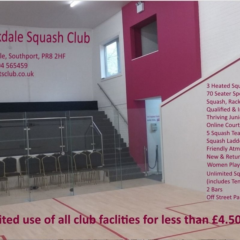 Squash Club Looking for new members
