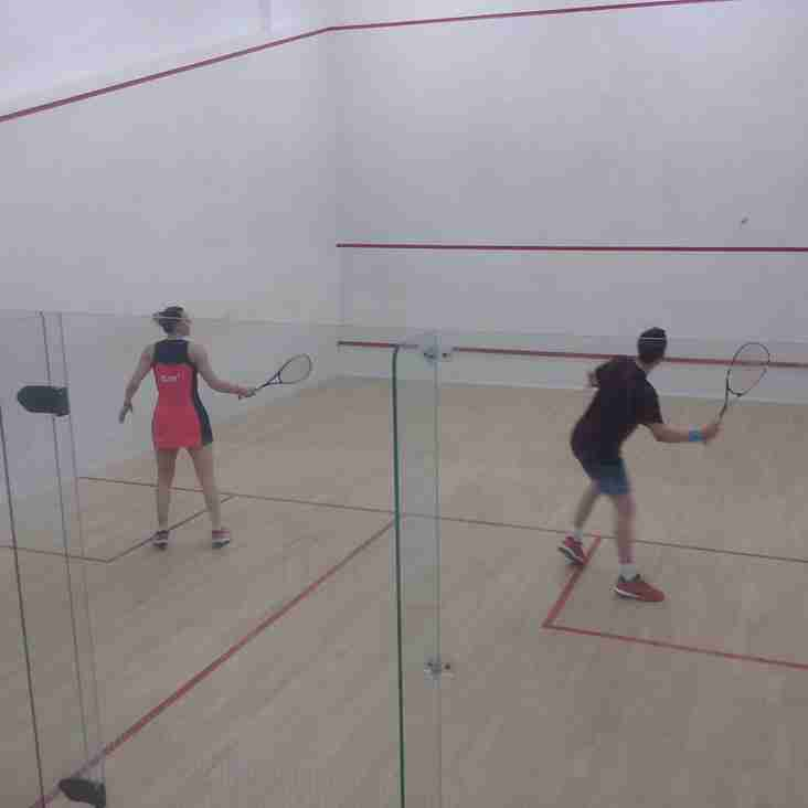 Squash Result 30th January 2018