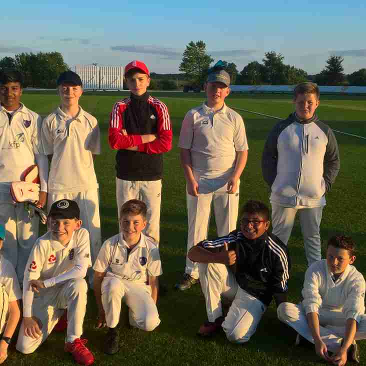 KCC under 13s in Oxfordshire Cricket newsletter